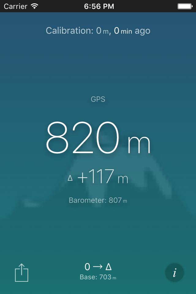 Altimeter - Current elevation app