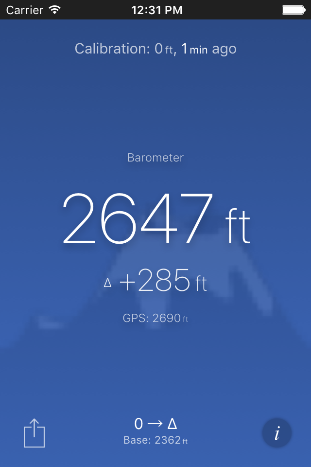 Piet Jonas Altimeter New App For IOS Android And The Watches - Current elevation app